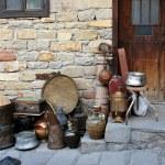 Antique shop on a tourist street in Veliko Turnovo...