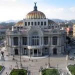 Bellas Artes palace at Mexico City...