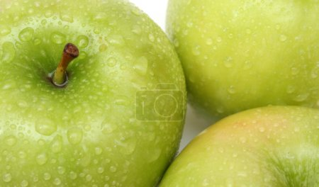 Photo for Apple background - Royalty Free Image