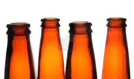 Photo pour Bouteilles de bière - image libre de droit