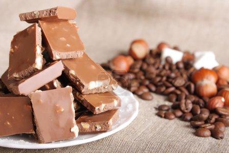 Chocolate still-life