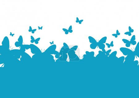 Photo for Wall-paper a template of the butterfly - Royalty Free Image