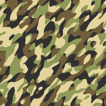 Foto de Un patrón de camuflaje que se teja perfectamente - Imagen libre de derechos