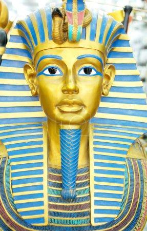 Decor egyptian golden pharaohs mask...