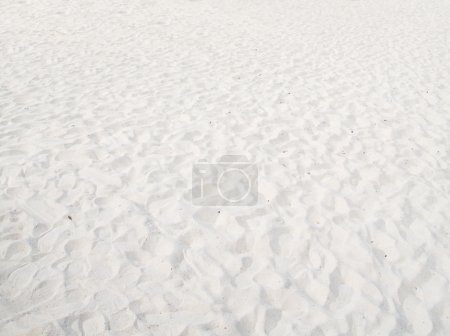 White sand background
