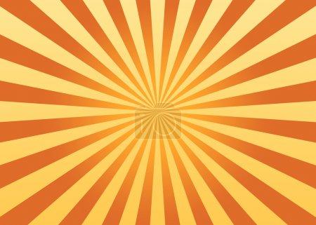 Photo pour Fond de rayons de soleil - image libre de droit