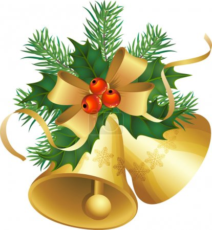 Illustration for Vector illustrations - christmas decor and symbols - Royalty Free Image