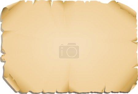 Illustration pour Illustration vectorielle - fond vieux papier - image libre de droit
