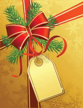 Illustration for Vector illustrations - christmas gift - Royalty Free Image
