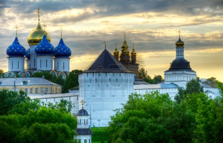 Photo for Piously-Troitsk Monastery in Sergiev Posad. - Royalty Free Image