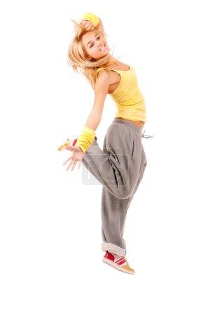 Young woman-sportswoman