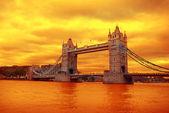 Tower Bridge on sunset