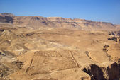 Roman fortifications and Judean desert
