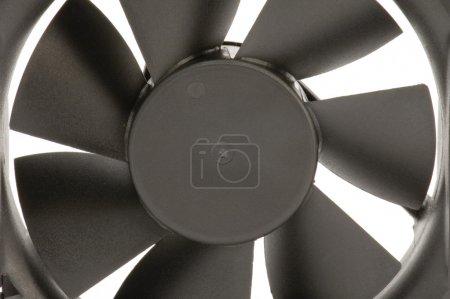 Foto de Objeto de la serie el ventilador eléctrico blanco - herramienta- - Imagen libre de derechos