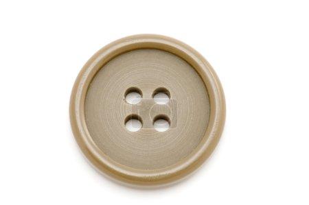 Photo pour Objet sur blanc outil de couture robe bouton - image libre de droit