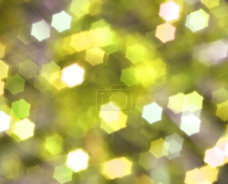 Yellow abstract christmas background