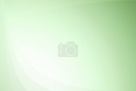 Photo pour Texture de fond gradient abstrait ondulé vert - image libre de droit
