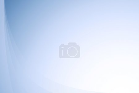 Blue wavy abstract gradient background
