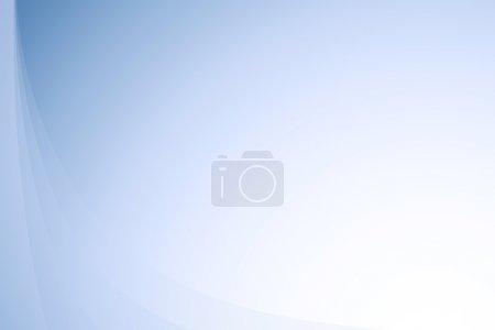 Photo pour Texture de fond abstraite ondulée bleue - image libre de droit