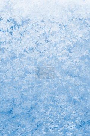 Photo pour Fond en verre gelé bleu clair - image libre de droit