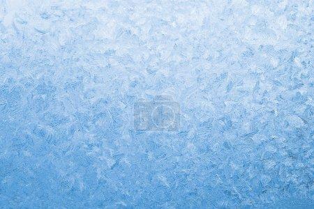 Foto de Fondo de vidrio ventana azul congelado - Imagen libre de derechos