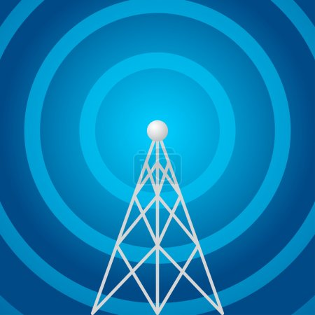Radio tower shape