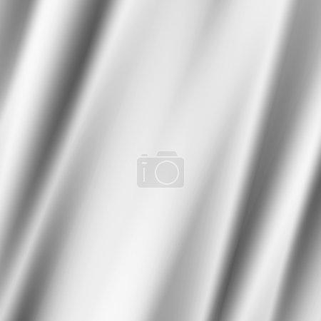 Photo pour Illustration de fond draperie blanche - image libre de droit