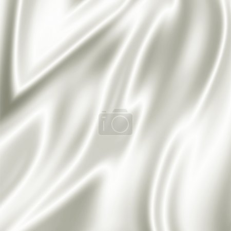 Photo pour Illustration de fond draperie satin - image libre de droit