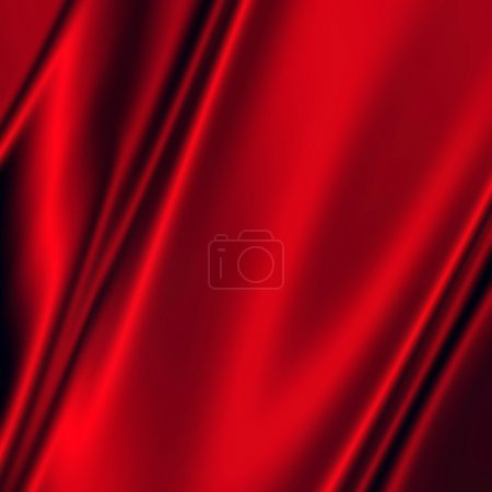 Abstract red drapery background