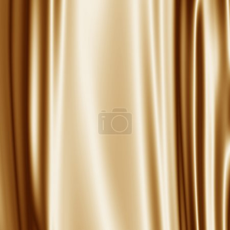 Golden satin fabric grunge