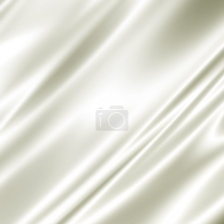 Photo for White silk fabric texture - Royalty Free Image