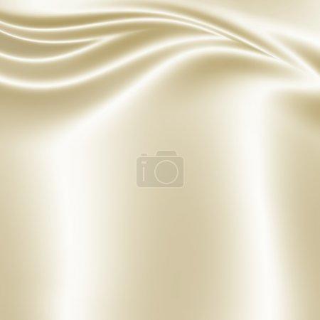 Photo pour Texture tissu satin blanc - image libre de droit