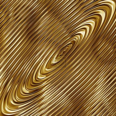 Gold spiral grunge