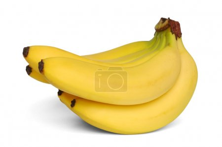 Photo for Isolated bananas - Royalty Free Image