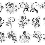 Floral ornaments....