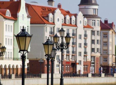 Quay in Kaliningrad