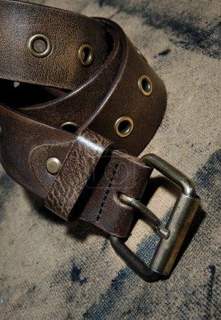 Knot of belt