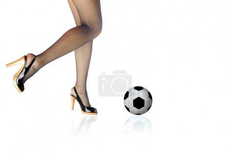Woman football
