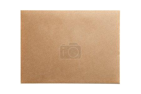 Photo for Empty envelope blank isolated on white background - Royalty Free Image