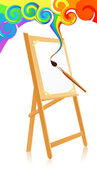 Magic easel
