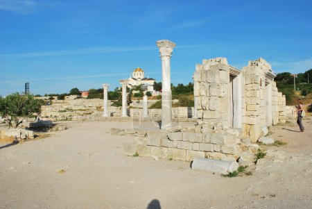 Ruins of ancient Chersones