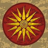 Macedonia symbol color