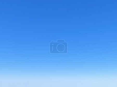 Photo for Clear bright blue sky - Royalty Free Image
