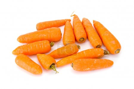 Photo for Carrots on a white background - Royalty Free Image