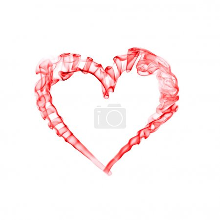 Red heart for valentine day