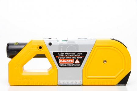 Photo for A Laser Level used in the construction industry. - Royalty Free Image