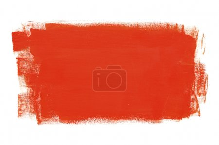 Photo for Red painted surface - Royalty Free Image