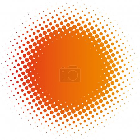 Illustration for Spotted flash (vector design element) - Royalty Free Image