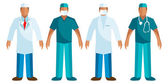 Medical staff - Vector Surgeon