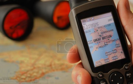 GPS receiver.